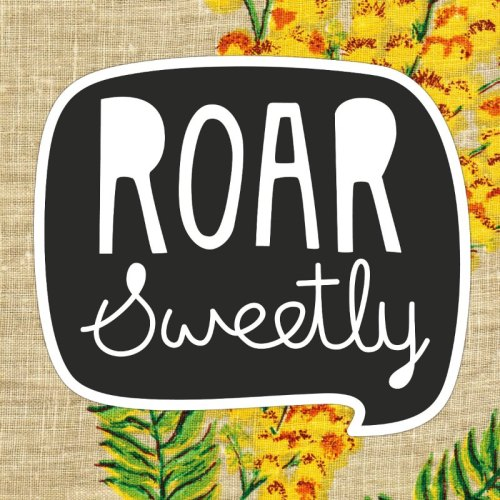 Roar Sweetly New Logo